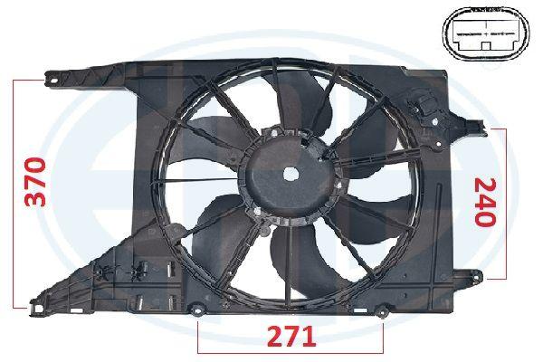 Ventilateur de radiateur ERA 352109 (X1)