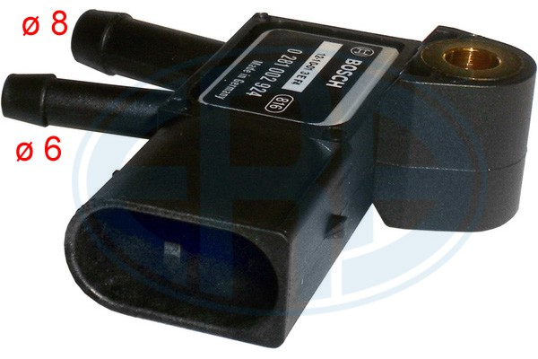Capteur, pression des gaz échappement ERA 550627A (X1)