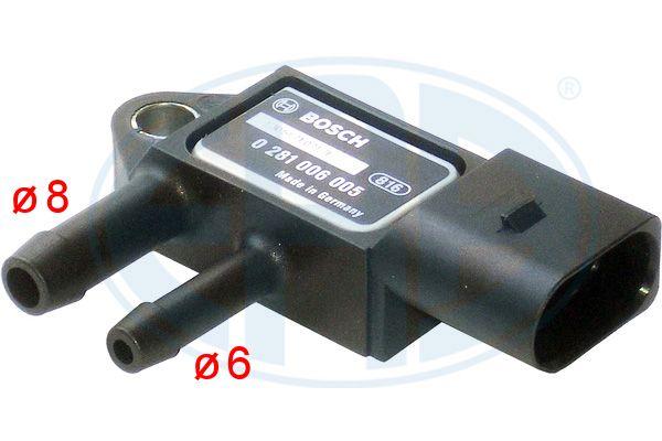 Capteur, pression des gaz échappement ERA 550711 (X1)