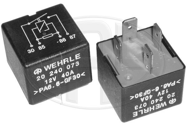 Relais, chasse du ventilateur de radiateur ERA 661022 (X1)