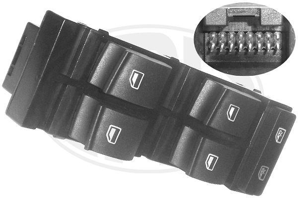 Interrupteur, leve-vitre ERA 662406 (X1)