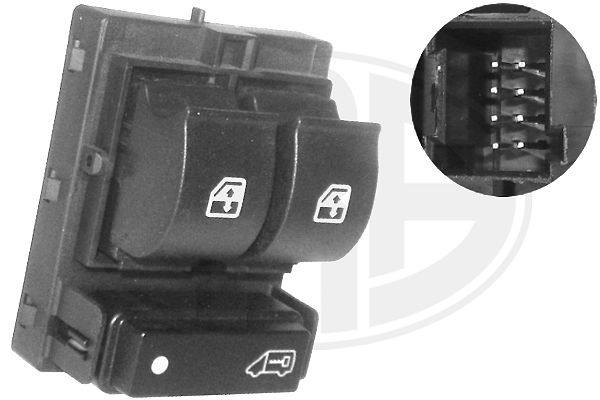 Autres pieces de verrouillage ERA 660033 (X1)