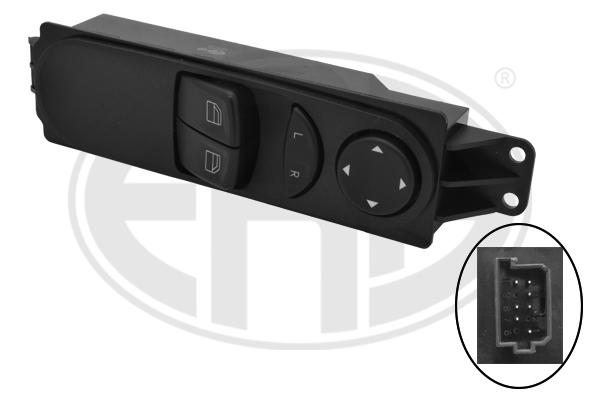 Interrupteur, leve-vitre ERA 662431 (X1)