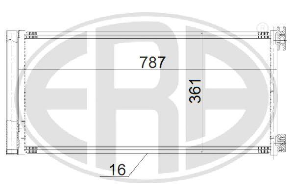 Reflecteur feu de position ERA 663010 (X1)