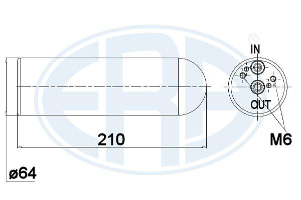 Bouteille deshydratante ERA 668027 (X1)