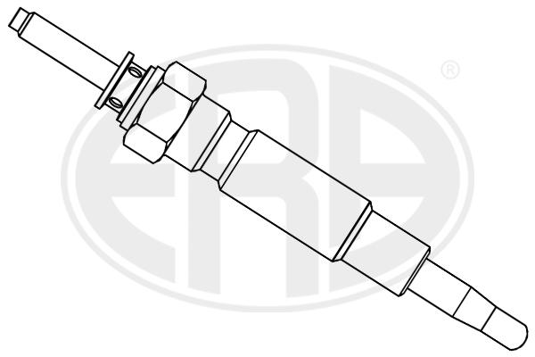 Bougie de prechauffage ERA 886018 (X1)