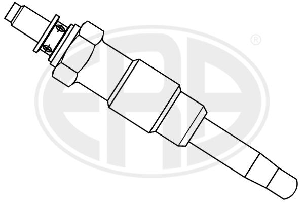 Bougie de prechauffage ERA 886058 (X1)