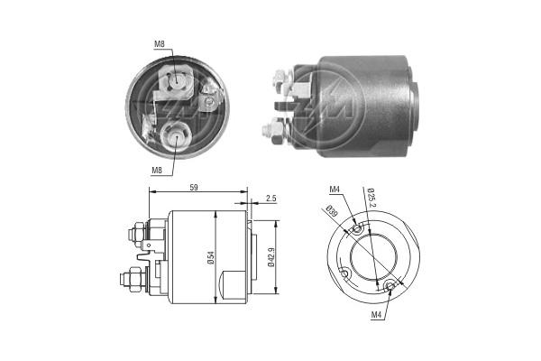 Demarrage et charge ERA ZM2491 (X1)