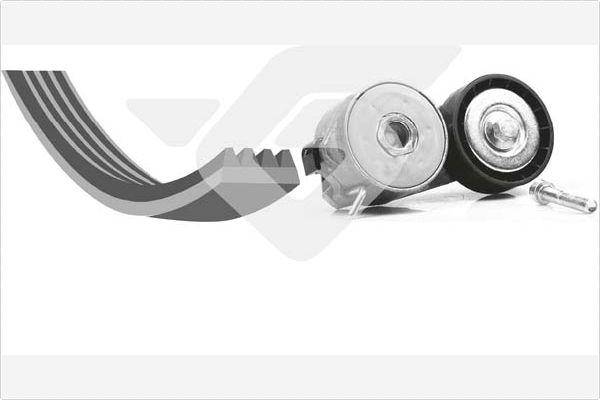 SKF Courroies trapézoïdales crantées FIAT ALFA ROMEO LANCIA VKMV 6pk1842