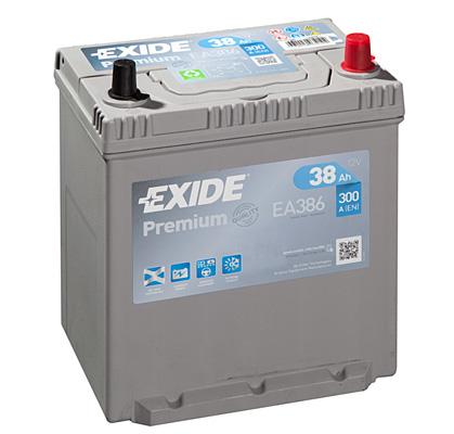 Batterie EXIDE EA386 (X1)