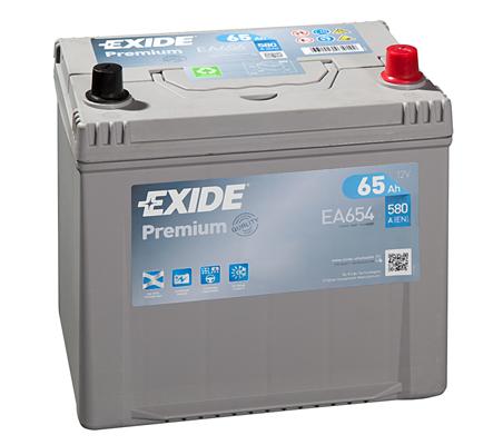 Batterie EXIDE EA654 (X1)