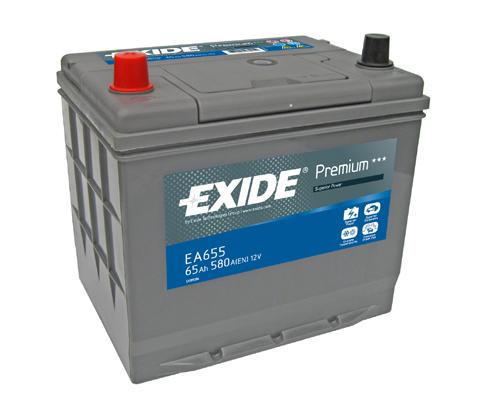Batterie EXIDE EA655 (X1)