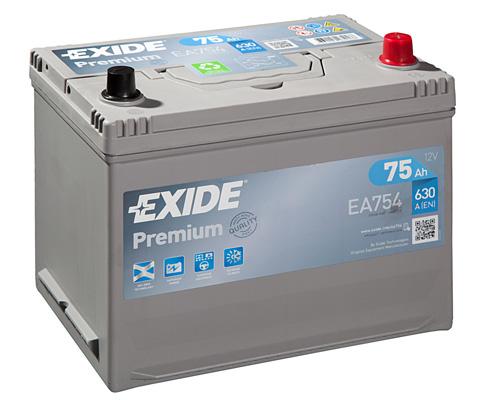 Batterie EXIDE EA754 (X1)