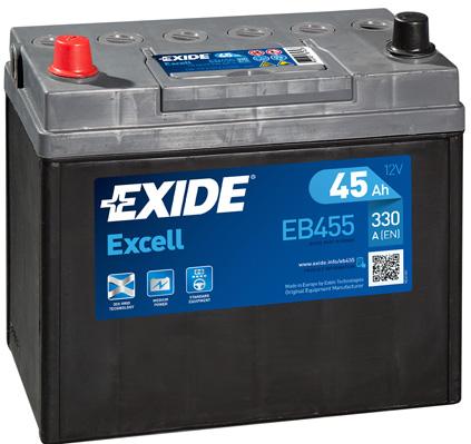 Batterie EXIDE EB455 (X1)