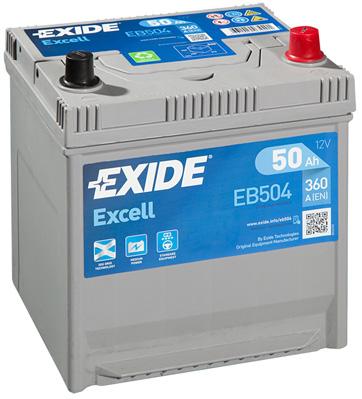 Batterie EXIDE EB504 (X1)
