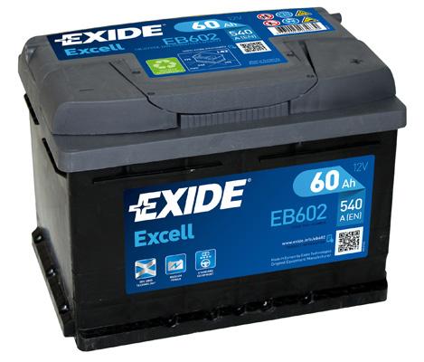 Batterie EXIDE EB602 (X1)