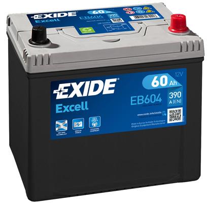 Batterie EXIDE EB604 (X1)
