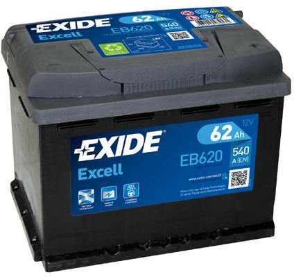 Batterie EXIDE EB620 (X1)