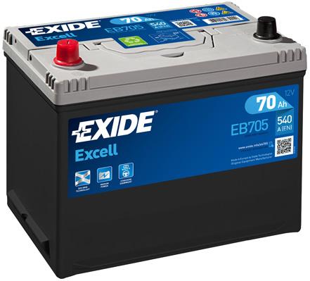 Batterie EXIDE EB705 (X1)