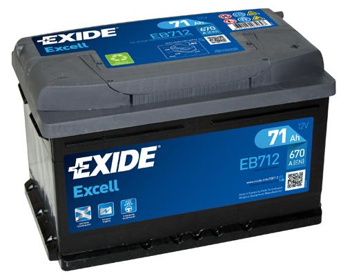 Batterie EXIDE EB712 (X1)