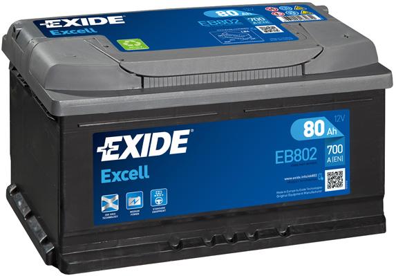 Batterie EXIDE EB802 (X1)