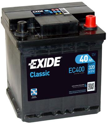 Batterie EXIDE EC400 (X1)