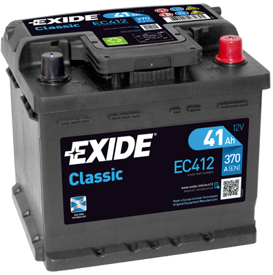 Batterie EXIDE EC412 (X1)