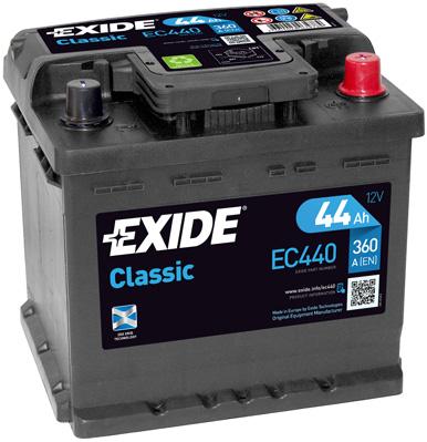 Batterie EXIDE EC440 (X1)