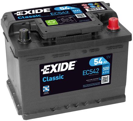Batterie EXIDE EC542 (X1)