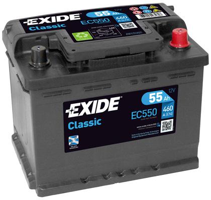 Batterie EXIDE EC550 (X1)