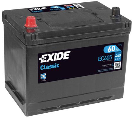 Batterie EXIDE EC605 (X1)