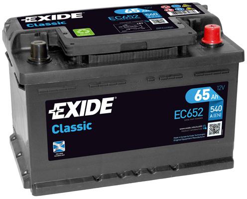 Batterie EXIDE EC652 (X1)