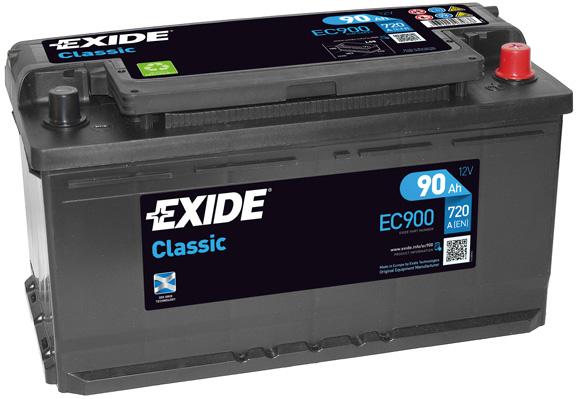 Batterie EXIDE EC900 (X1)
