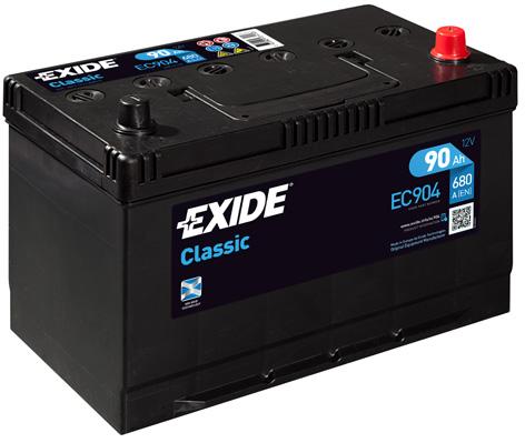 Batterie EXIDE EC904 (X1)