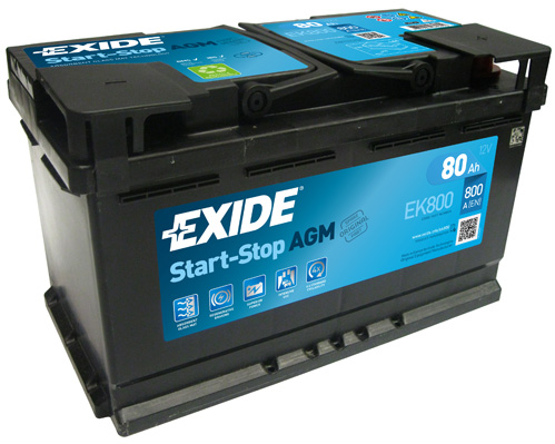 Batterie EXIDE EK800 (X1)