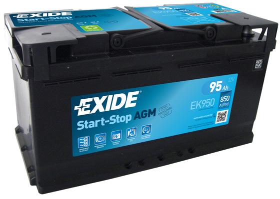 Batterie EXIDE EK950 (X1)