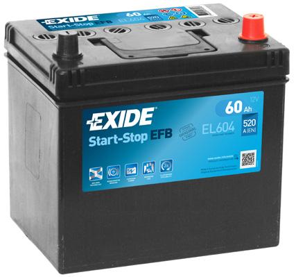 Batterie EXIDE EL604 (X1)