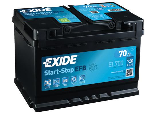Batterie EXIDE EL700 (X1)