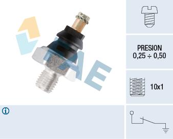 Capteur, pression d'huile FAE 10020 (X1)