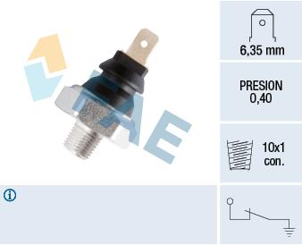 Capteur, pression d'huile FAE 11060 (X1)