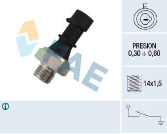 Capteur, pression d'huile FAE 12430 (X1)