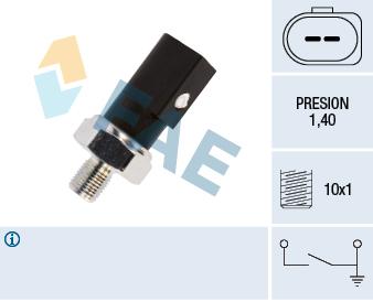 Capteur, pression d'huile FAE 12850 (X1)