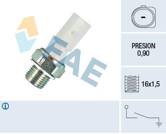 Capteur, pression d'huile FAE 12860 (X1)