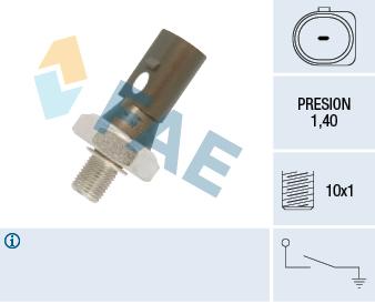 Capteur, pression d'huile FAE 12880 (X1)