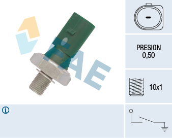 Capteur, pression d'huile FAE 12881 (X1)