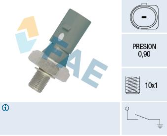 Capteur, pression d'huile FAE 12882 (X1)
