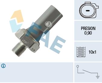 Capteur, pression d'huile FAE 12884 (X1)