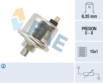 Capteur, pression d'huile FAE 14500 (X1)