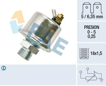 Capteur, pression d'huile FAE 14990 (X1)