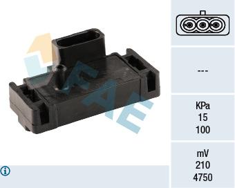 Capteur, pression du tuyau d'admission FAE 15001 (X1)